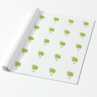 Tree of life wrapping paper