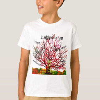 Tree of Love Rules for Happiness T-Shirt