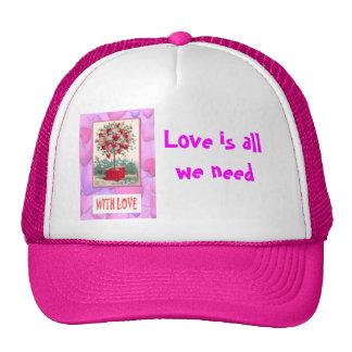 Tree of love trucker hat