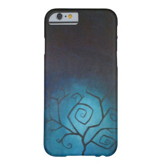 Tree of Nightmares Blue Twilight iPhone 6 case
