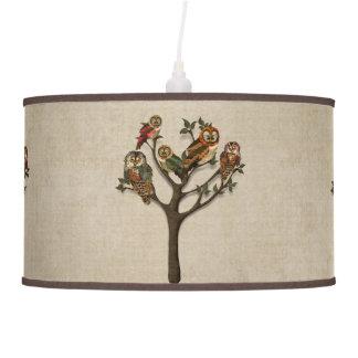 Tree of Owls Lamp Shade