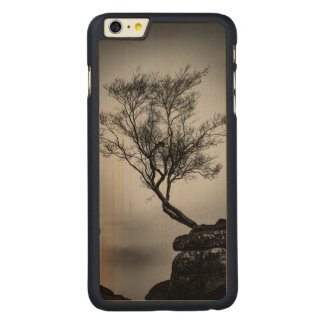 Tree on a Cliff Carved® Maple iPhone 6 Plus Case
