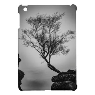 Tree on a Cliff Cover For The iPad Mini
