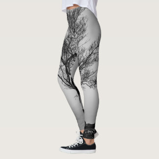 Tree on a Cliff Leggings