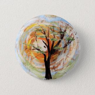 Tree on Tree 2 Inch Round Button