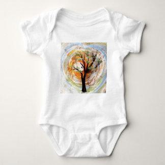 Tree on Tree Baby Bodysuit