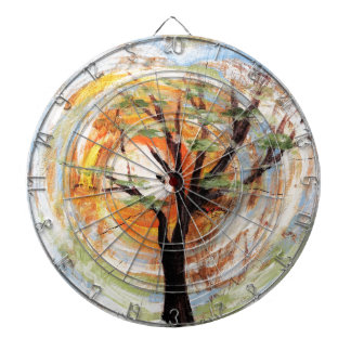 Tree on Tree Dartboard