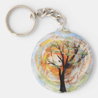Tree on Tree Keychain