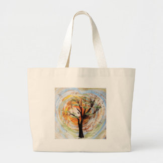 Tree on Tree Large Tote Bag