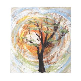 Tree on Tree Notepad