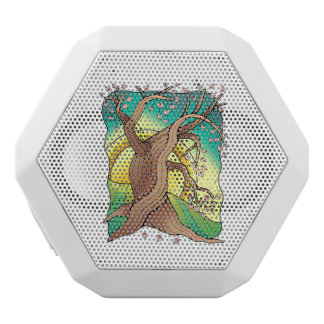 Tree One White Bluetooth Speaker