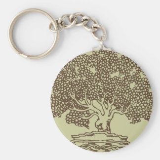 Tree Outline Keychain