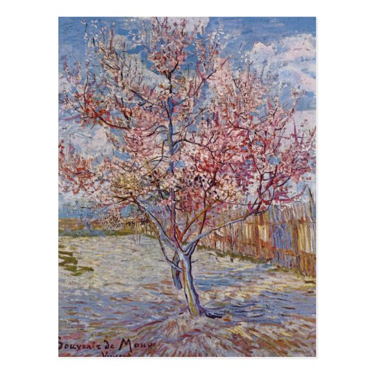 Tree Painting by Vincent Van Gogh Postcard