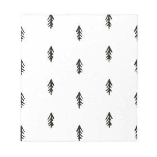 Tree pattern notepad
