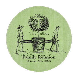 Tree Personalized Family Reunion Cutting Board