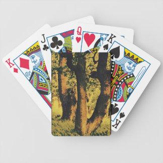 Tree Pop Art Poker Deck