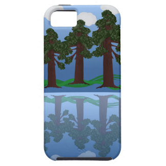 tree reflection iPhone 5 cover
