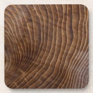 Tree rings drink coasters