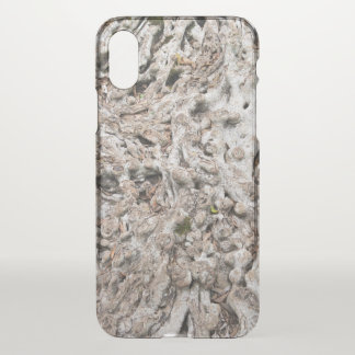 Tree root composition iPhone x case