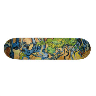 Tree Roots by Vincent van Gogh (July 1890) Skateboards