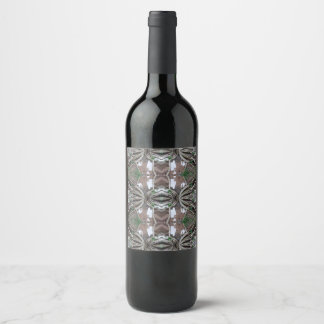 tree roots wine label