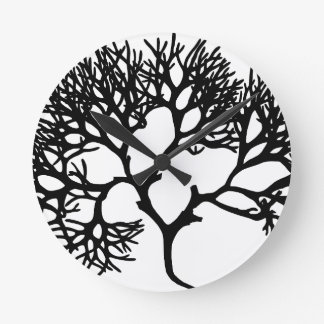 Tree Round Clock