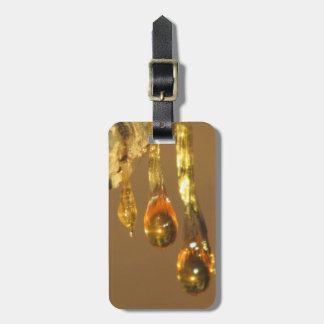 Tree Sap Drippings Bag Tag