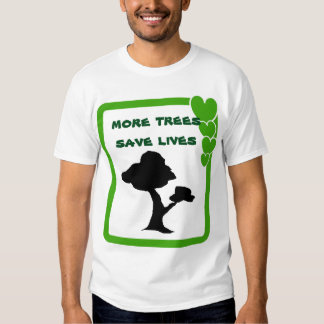 Tree saves lives t shirts