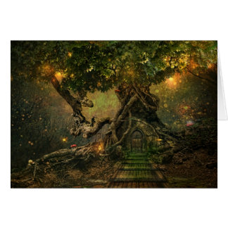 tree scape card