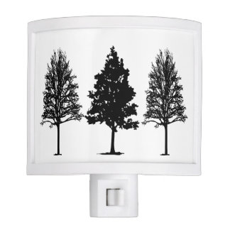 Tree Silhouette Nightlight Night Lite