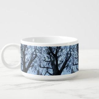 Tree Silhouette Photograph Chili Bowl