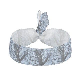 Tree Silhouette Photograph Hair Tie