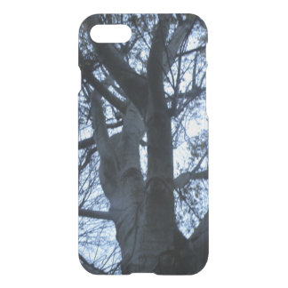 Tree Silhouette Photograph iPhone Case