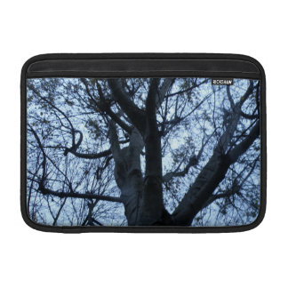 Tree Silhouette Photograph Macbook Sleeve