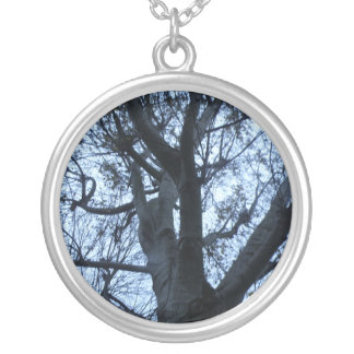 Tree Silhouette Photograph Necklace