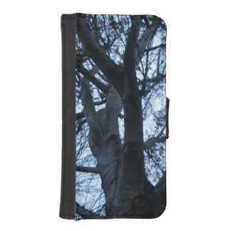Tree Silhouette Photograph Phone Wallet Case
