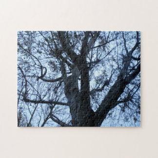 Tree Silhouette Photograph Puzzle