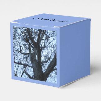 Tree Silhouette PhotographCustom Favor Box