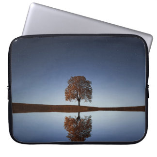 "Tree & Sky Reflection Scene, 15"" Laptop Sleeve"