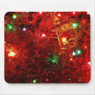 Tree Sparkles Mouse Pad