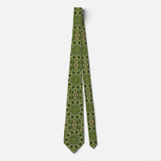 Tree Star Kaleidoscope Tie