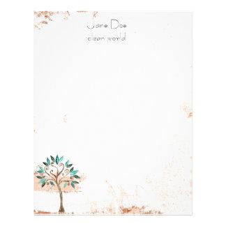 tree stationary letterhead