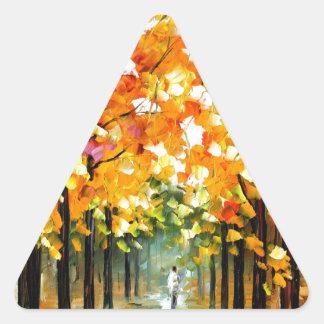 Tree Triangle Sticker