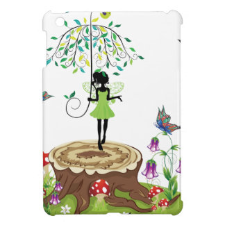 Tree Stump and Fairy 2 Cover For The iPad Mini