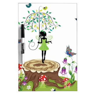 Tree Stump and Fairy 2 Dry-Erase Boards