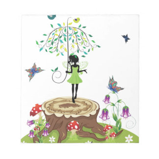 Tree Stump and Fairy 2 Notepad