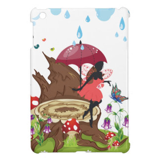 Tree Stump and Fairy iPad Mini Cases