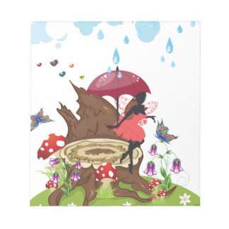 Tree Stump and Fairy Notepads