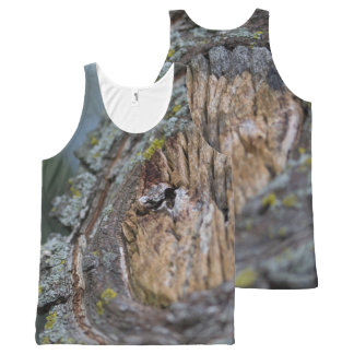 Tree Stump Photography All-Over-Print Tank Top