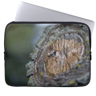 Tree Stump Photography Laptop Sleeve